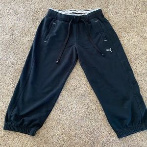 Puma cropped sweatpants